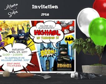 il_340x270.1264905003_mg0e lego batman invitations etsy,Lego Batman Movie Invitations