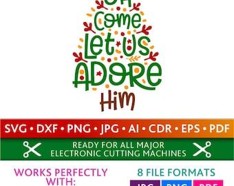 oh come let us adore him lyrics pdf