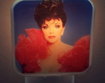 Joan Collins Night Light