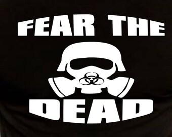 Fear the Dead Toxic Trooper Tshirt