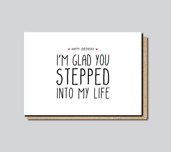 Stepdad Birthday card Card for Stepdad Stepfather Birthday – Step Dad Birthday Cards