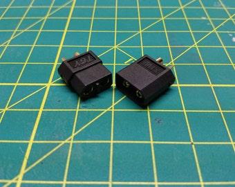 XT60 Connectors (Black)