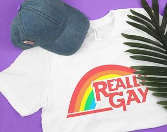 Really Gay T-Shirt gay pride, pride rainbow, lgbt pride, pride flag, gay rainbow, gifts for gays, pride shirts, pride gifts, rainbow shirt