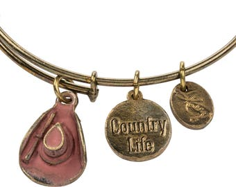 Country Life Charm Bracelet
