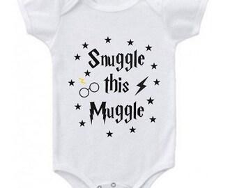 Snuggle this Muggle SVG, Harry Potter SVG, Snuggle Muggle Cutting File