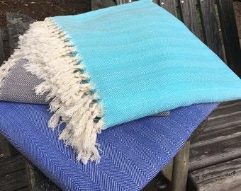 100% Turkish Cotton Blankets/Throws (1.60x2.40meters)