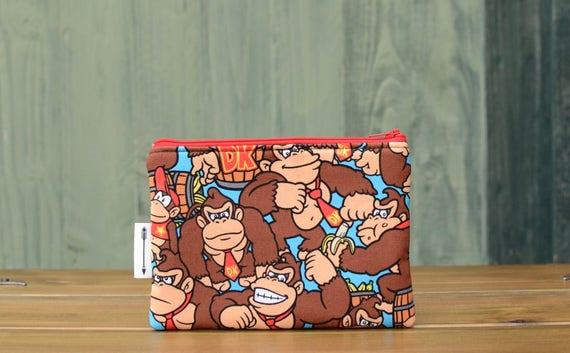 Donkey Kong Zipped Pouch