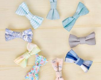 Baby boys bow tie.baby bow tie.Fabric bow tie.boys bow tie.Wedding.Birthday.Photo prop.