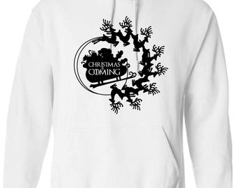 Game of Thrones House Rudolph Lighting the Way House Stark Motto Christmas Hoodie