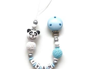 Pacifier pattern IVAN wooden beads