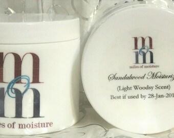 Sandalwood Moisturizer | All Natural Body Lotion, Moisturizing Lotion
