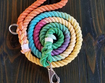 Fruity Pebbles Cotton Rope Leash