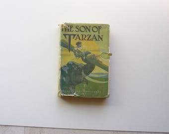 Book First Edition The Son of Tarzan
