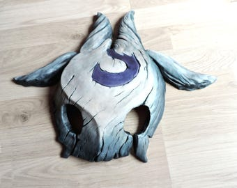 Kindred Lamb mask League of Legends inspired