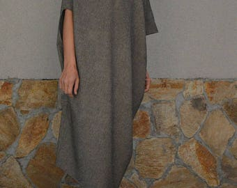 Oversized Dress / Asymmetrical Dress / Extravagant long dress / Party Dress / Kaftan / TT27