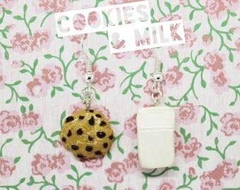 Cookies & Milk Earrings