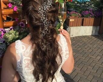 bridal Hair Vine bridal hair piece hair accessories wedding bridal headband bridal jewelry wedding jewelry wedding hair boho chic hair vine