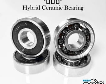 Fidget Spinner Bearings - 608 Hybrid Ceramic Bearing Si3N4 Ball Bearing 8x22x7mm | 608 2RS ABEC-7 Side Weight Bearing
