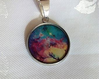 Nebula Universe Pendant