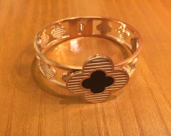 stainless steel bangle,bracelet,stainless steel,rose gold plating