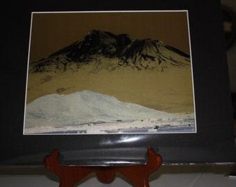 8x10 Mount Shasta