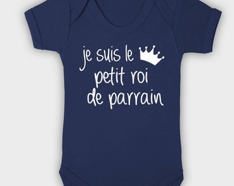 I'm the little King Godfather, baby Bodysuit