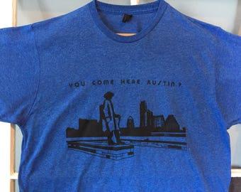 Mens T-shirt, Royal Blue