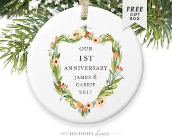 2nd Anniversary, First Year Anniversary Gifts for 1st Anniversary, First Anniversary Gift Ideas for Wife, 3rd Anniversary, 10th Anniversary