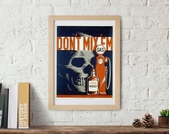 Whisky Wall art Poster, Wall art print, vintage poster