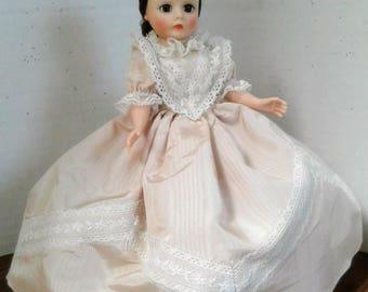 """Vintage Cissette Madame Alexander Doll """"Charlotte"""" Tagged Dress"""
