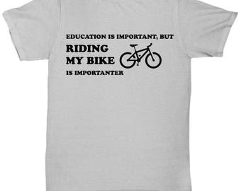 Funny Bike Shirt - Bike T shirt - Gift for Bikers