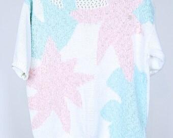 Vintage 80s knit jumper M