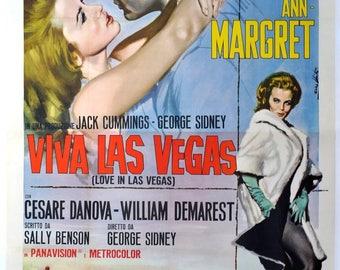 Movie poster Viva Las Vegas Elvis Presley, Ann Margret.