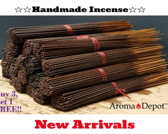 Incense Sticks 85-100 Bulk Pack Freshly hand dipped in premium quality fragrance oil Choose Your Scent (FREE SHIPPING) Buy 3, Get 1 FREE!!