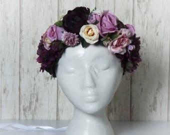 Flower Crown - Purple