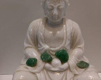 Aventurine healing stone, natural stone, meditation, reiki