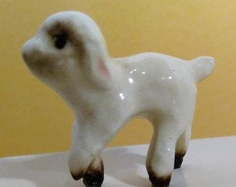 Vintage Itty Bitty Baby Lamb! Hagen Renaker