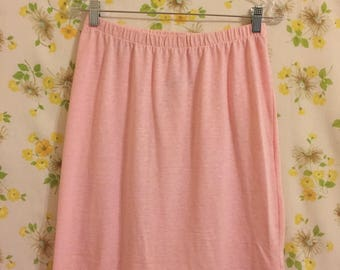 Vintage Pretty in Pink Skirt