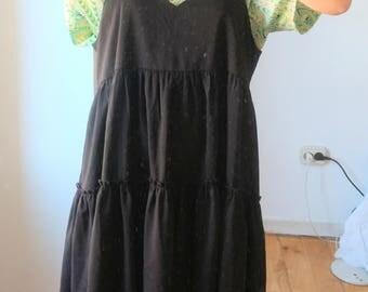 Kling black long dress