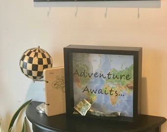 Personalized Shadow Box Piggy Bank