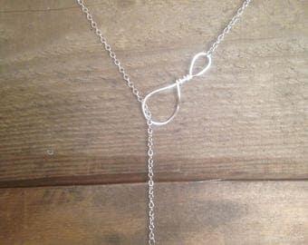 Infinity Beach Glass Necklace | Lake Erie Beach Glass Necklace | Artisan Style Necklace