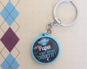 """Gift for Dad: door-key """"My dad he is super nice"""""""