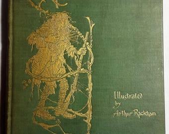 Rip Van Winkle by Washington Irving, Illustrated by Arthur Rackham, 1916