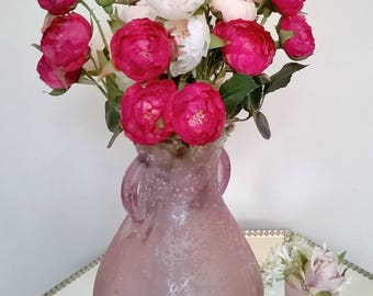 faux ranunculus stem pink, flower stems, artificial flower stems pink, artificial ranunculus pink, faux flowers, faux bouquet, silk flowers