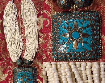 Ethnic Medallion necklace