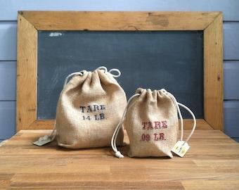 Reusable Burlap Produce Bag