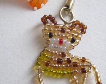 leopard key holder