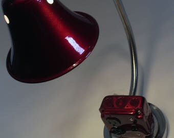Candy Land - Street Lamp - Industrial Style Desk and Table Lamp with AC Convenience Outlet