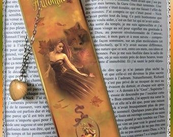 "Bookmarks laminated ""Autumn"", cheap gift idea"