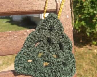 Crochet Tree Ornament - Christmas Ornament - Crochet Ornament
